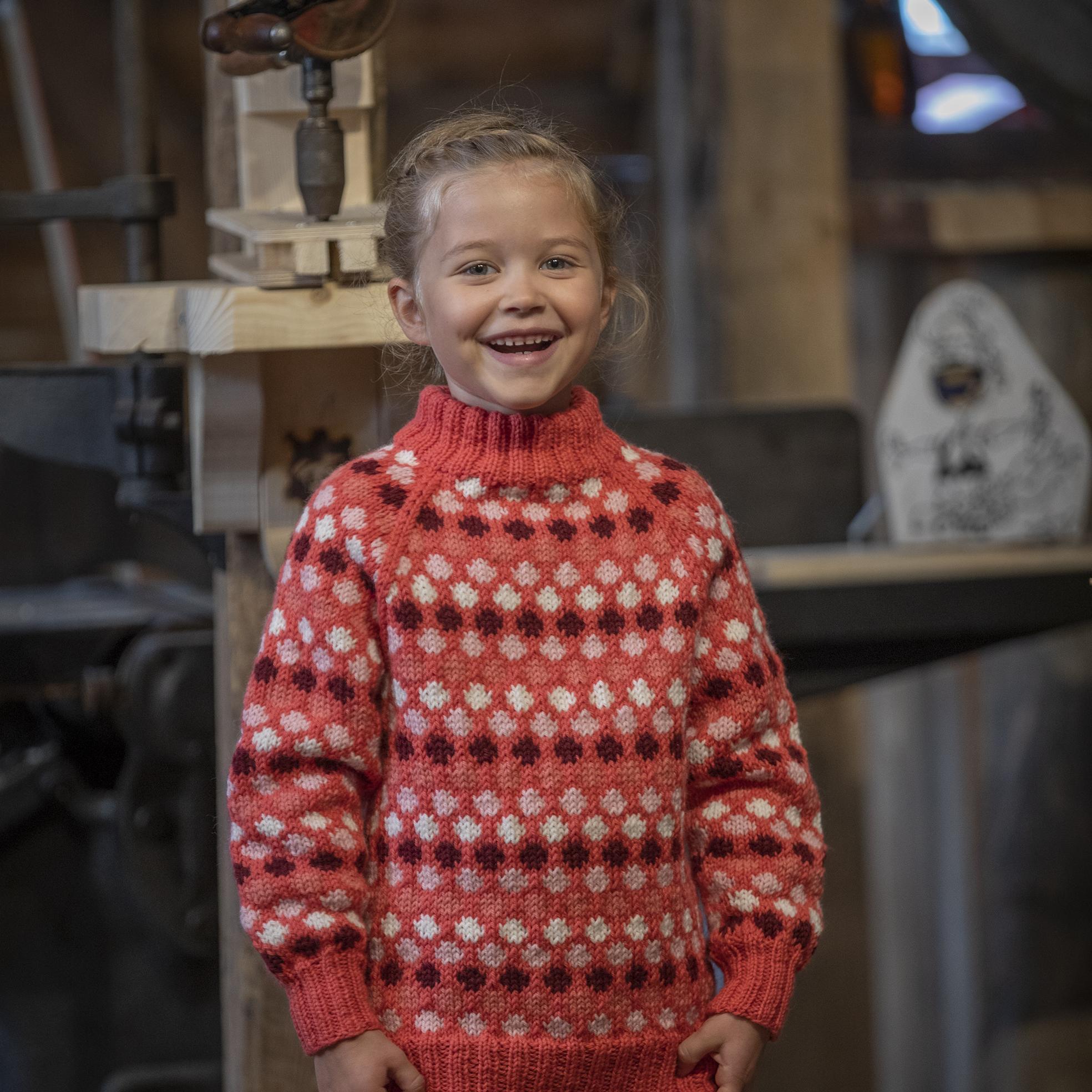 Viking Garn Oppfinner Genseren Dame | strikkepakke