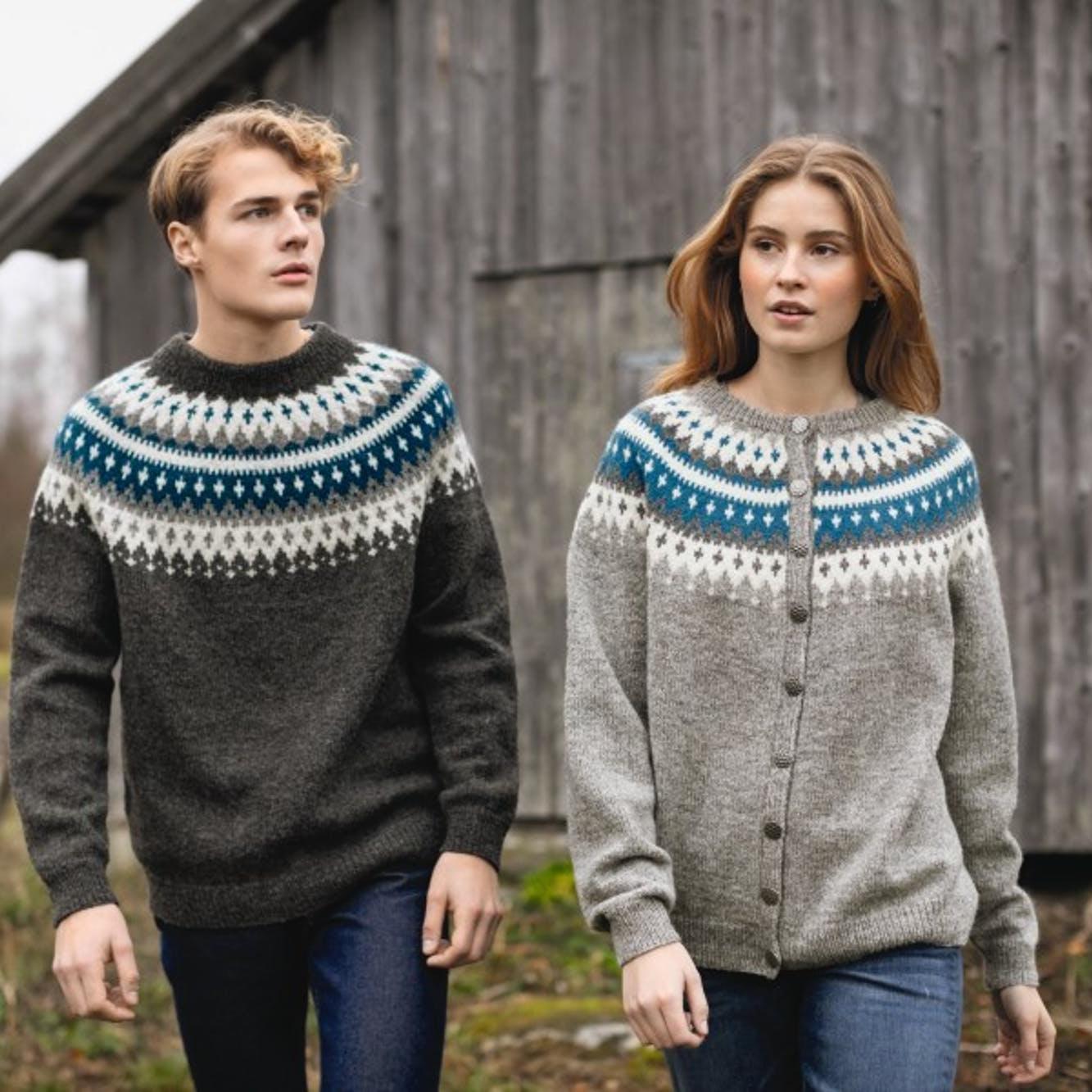 Rauma Torsdagsgenser | strikkepakke Strikkehjørnet AS